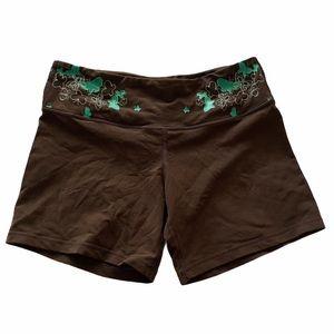 Lululemon Rare 1st run reversible shorts size 8